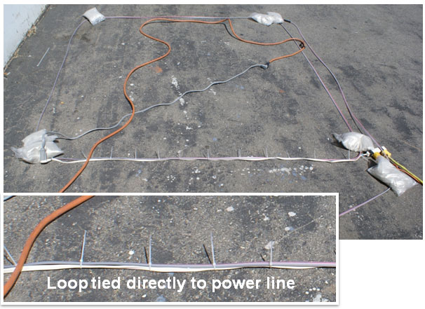 Inductance Loops And Power Lines