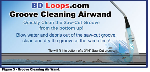 Groove Cleaning Air Wand